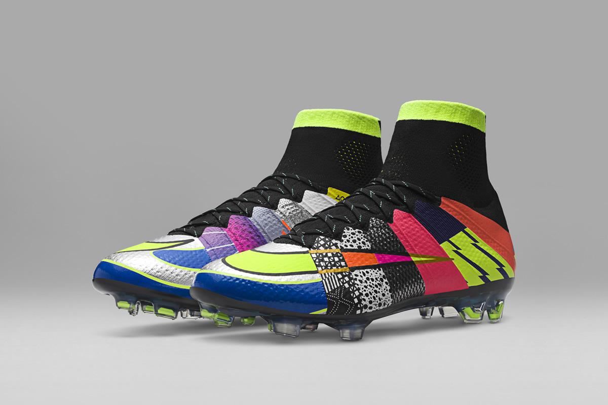bajo precio be39c 6b241 Botines Nike Mercurial Superfly IV edición «What the…»