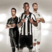 Nuevas casacas del Botafogo | Foto Web Oficial