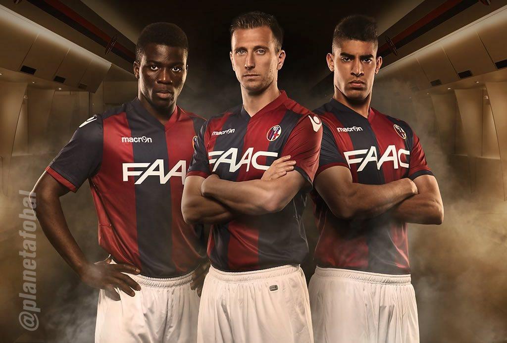 Nueva camiseta titular del Bologna para 2016/2017 | Foto web oficial