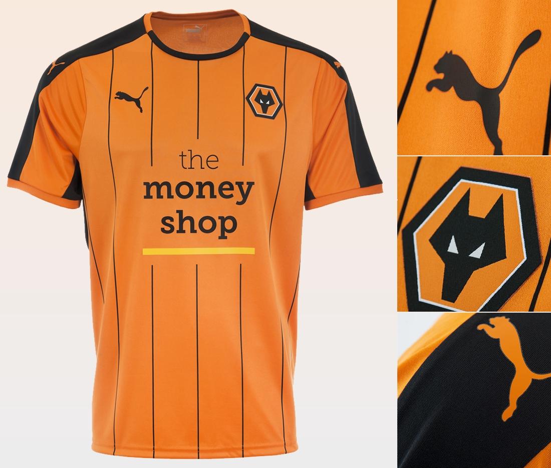 Detalles de la nueva camiseta del Wolverhampton | Foto web oficial