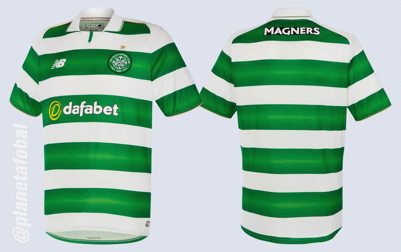 Nueva casaca del Celtic | Imágenes Web Oficial
