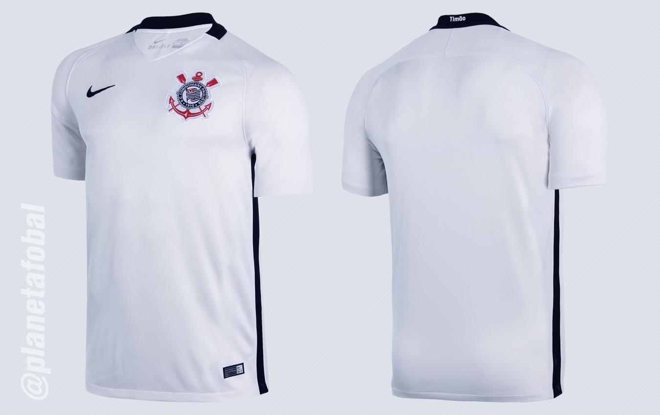 Nueva casaca del Corinthians | Imágenes Nike