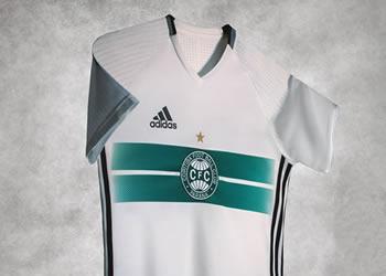 Camiseta titular del Coritiba | Foto Web Oficial
