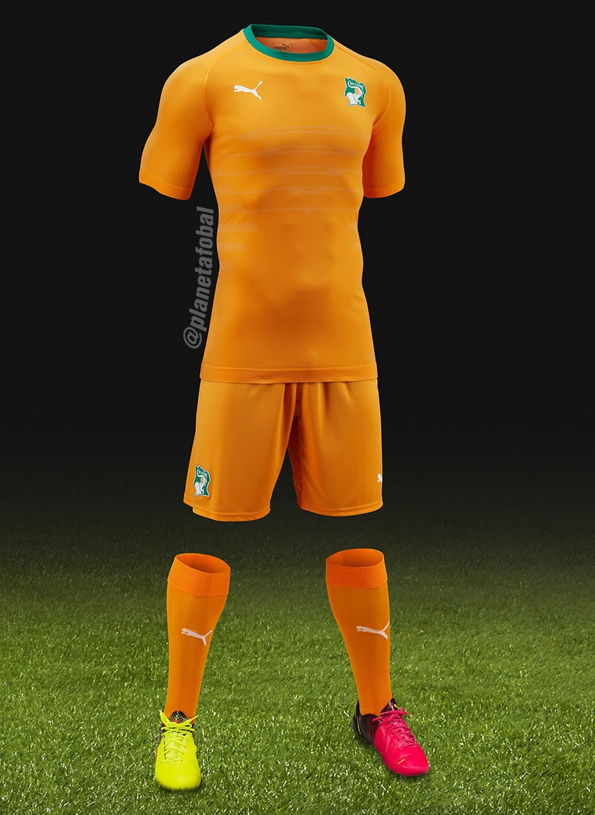 Nueva camiseta de Costa de Marfil | Foto Puma