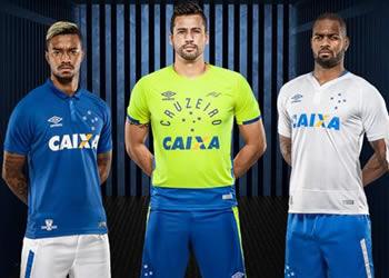 Nuevas camisetas del Cruzeiro | Foto Umbro