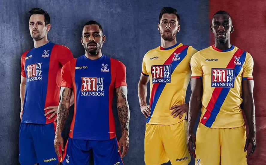 Nuevas camisetas del Crystal Palace | Imágenes Macron
