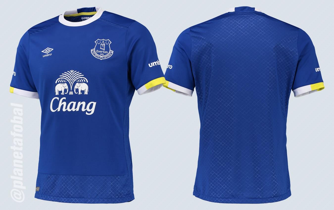 Camiseta titular del Everton | Imágenes Web Oficial