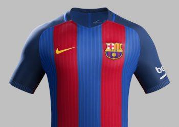 Nueva camiseta titular del Barcelona | Foto Nike