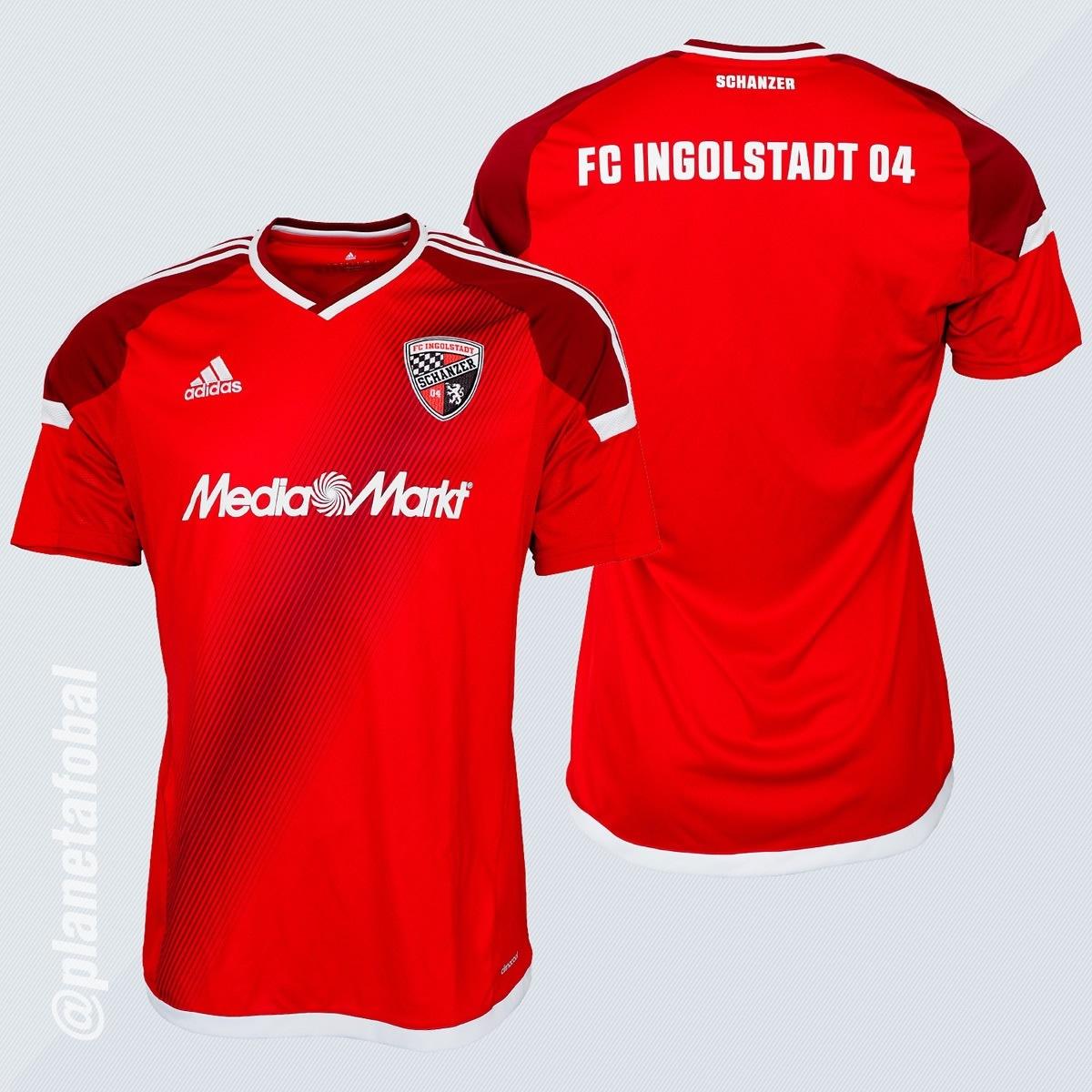 Casaca titular del FC Ingolstadt 04 | Imágenes Web Oficial