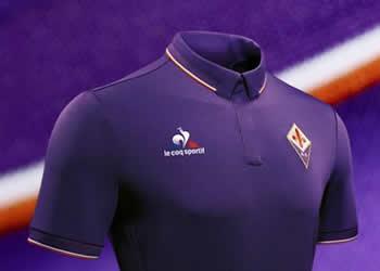 Camiseta titular de la Fiorentina | Foto le coq sportif