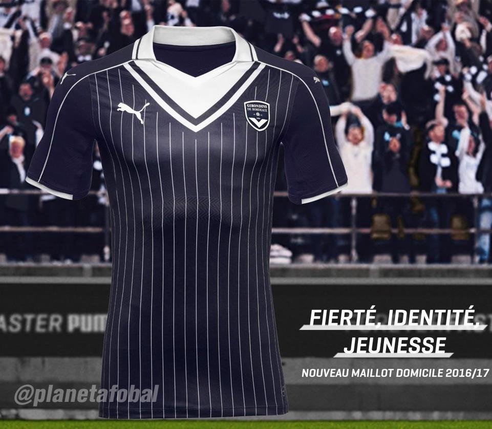 Nueva camiseta del Bordeaux | Foto Web Oficial