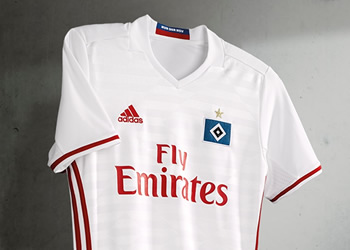 Camiseta titular del Hamburgo | Foto Adidas