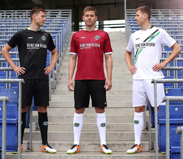 Nuevas casacas del Hannover 96 | Foto Web Oficial