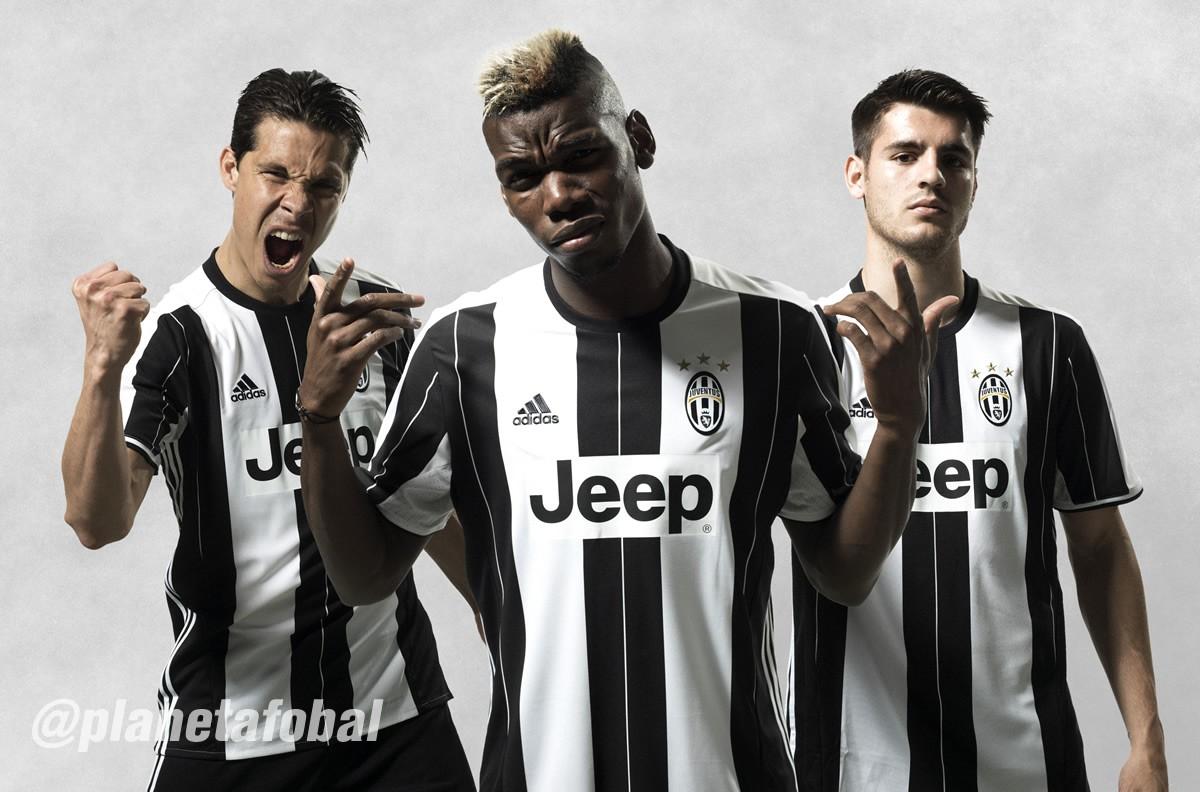 Nueva camiseta de la Juventus | Foto Adidas