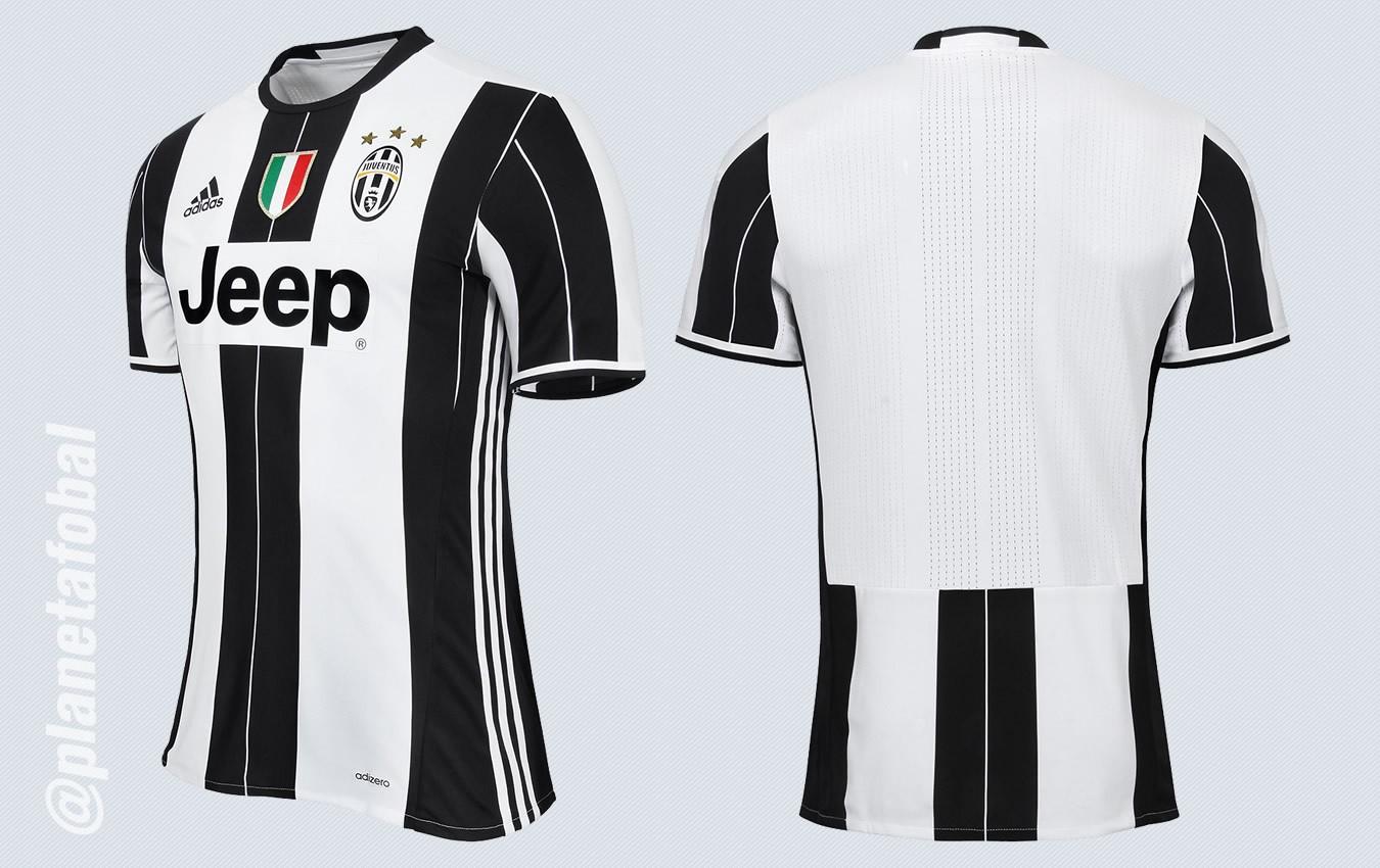 Camiseta titular de la Juventus | Imágenes Web Oficial