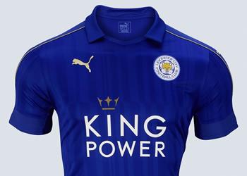 3350f90934f32 Camiseta titular Puma del Leicester City 2016 17