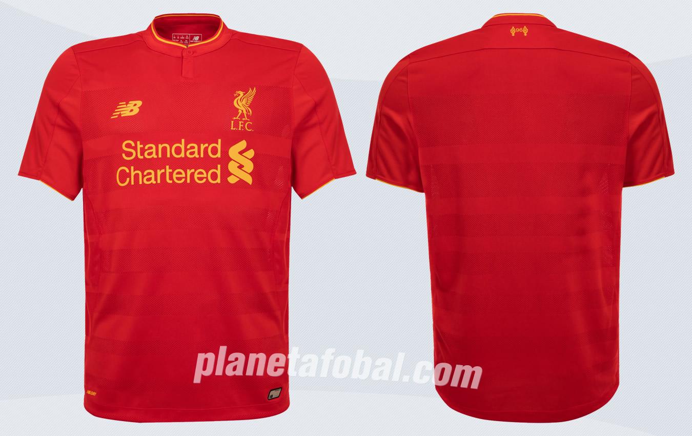 Nueva camiseta del Liverpool | Imágenes Web Oficial