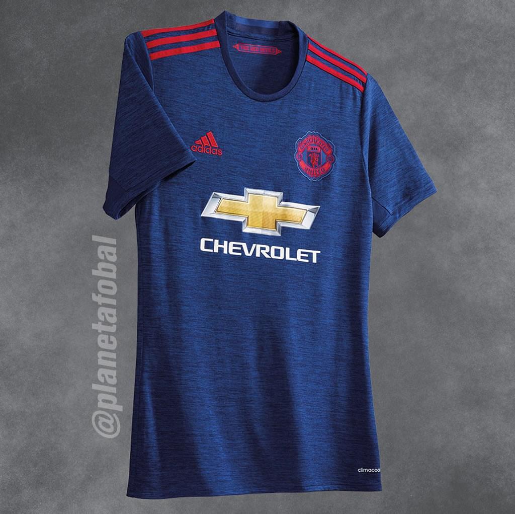 Casaca suplente del Manchester United | Foto Twitter Oficial