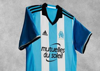 Tercera camiseta del Marsella |Foto Web Oficial