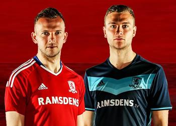 Nuevas casaca del Middlesbrough | Imágenes Web Oficial