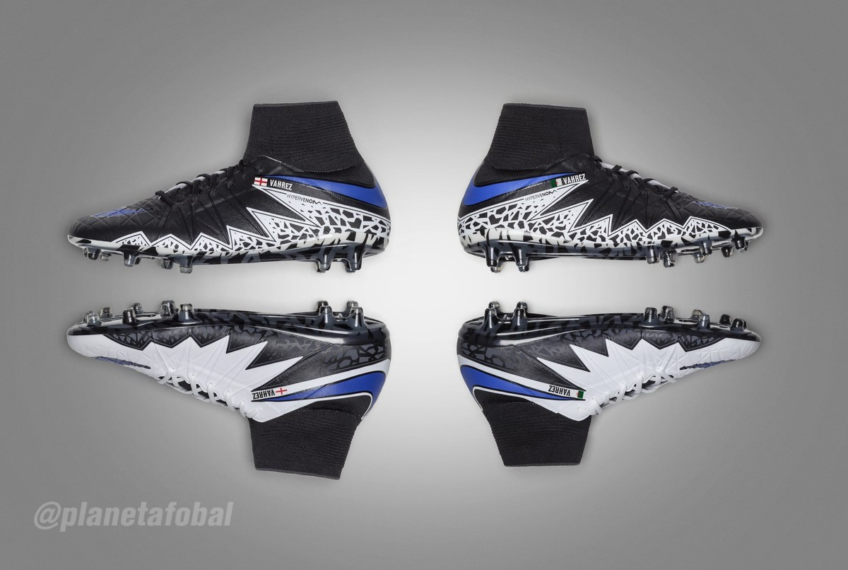 Hypervenom de Vardy y Mahrez | Foto Nike