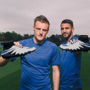 Vardy y Mahrez con sus Hypervenom | Foto Nike