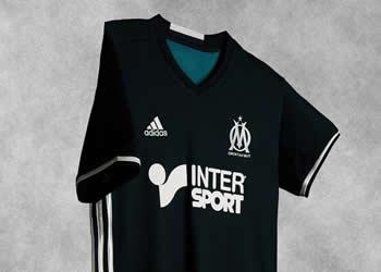 Camiseta suplente del Marsella | Foto Web Oficial