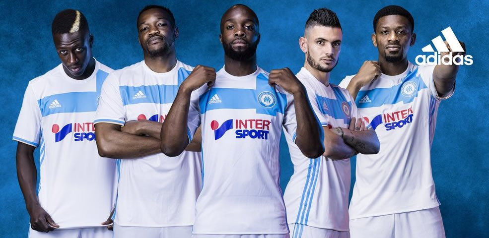 Camiseta titular del Marsella | Foto Web Oficial