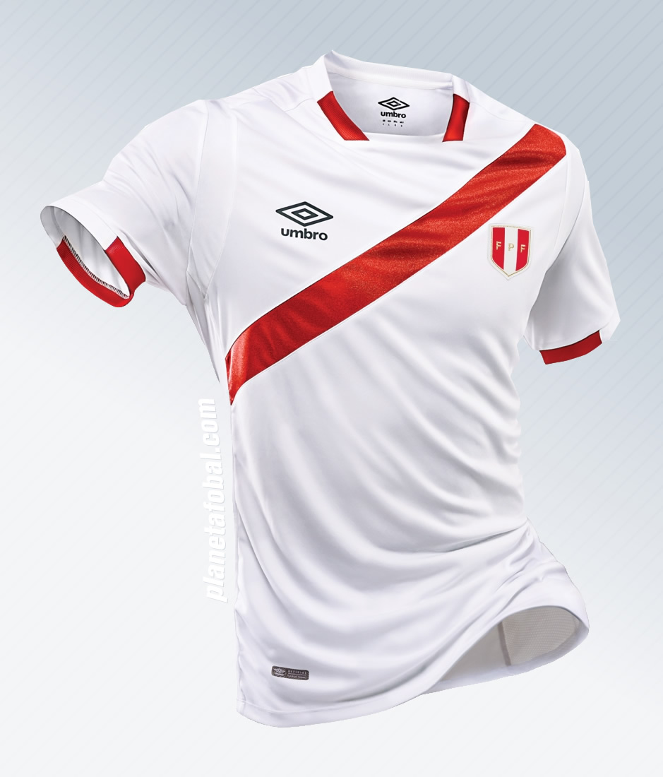Nueva camiseta de Perú | Foto Umbro