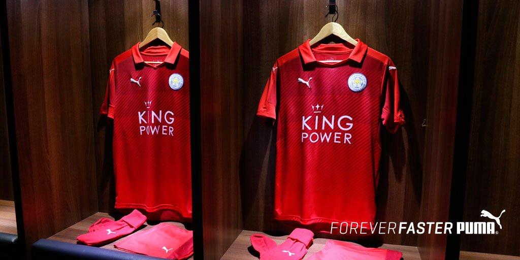 Nueva camiseta del Leicester City | Foto Puma