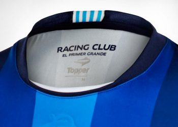 Nueva camiseta de Racing | Foto Topper
