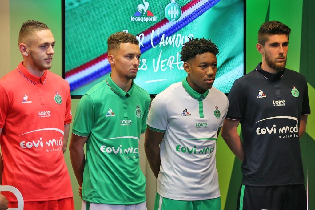 Camisetas del Saint-Étienne | Foto Web Oficial