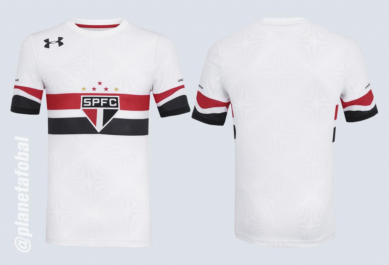 Nueva camiseta del São Paulo | Foto Under Armour