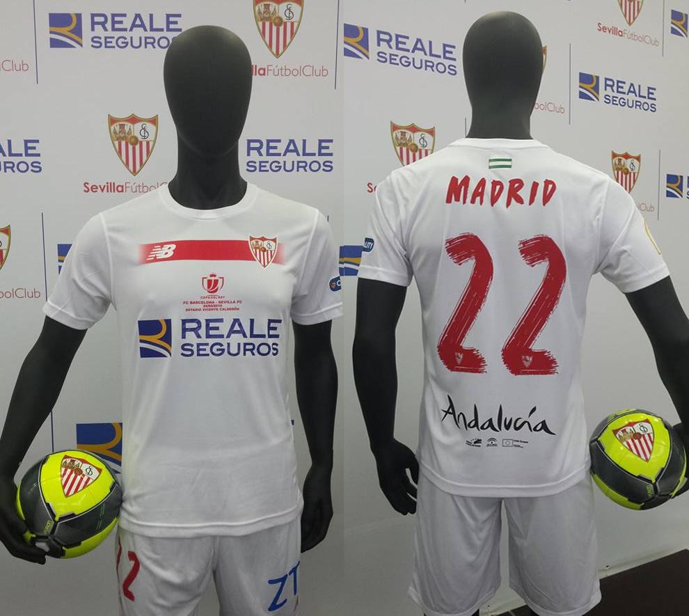 Casaca especial del Sevilla | Imágenes Web Oficial