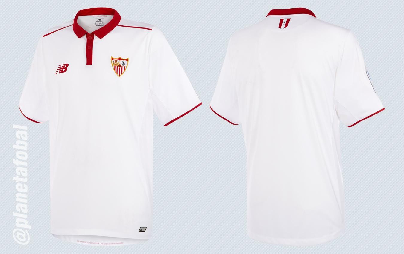 Nueva camiseta del Sevilla | Imágenes New Balance