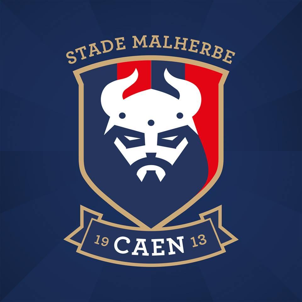 Nuevo escudo del Caen | Foto Web Oficial