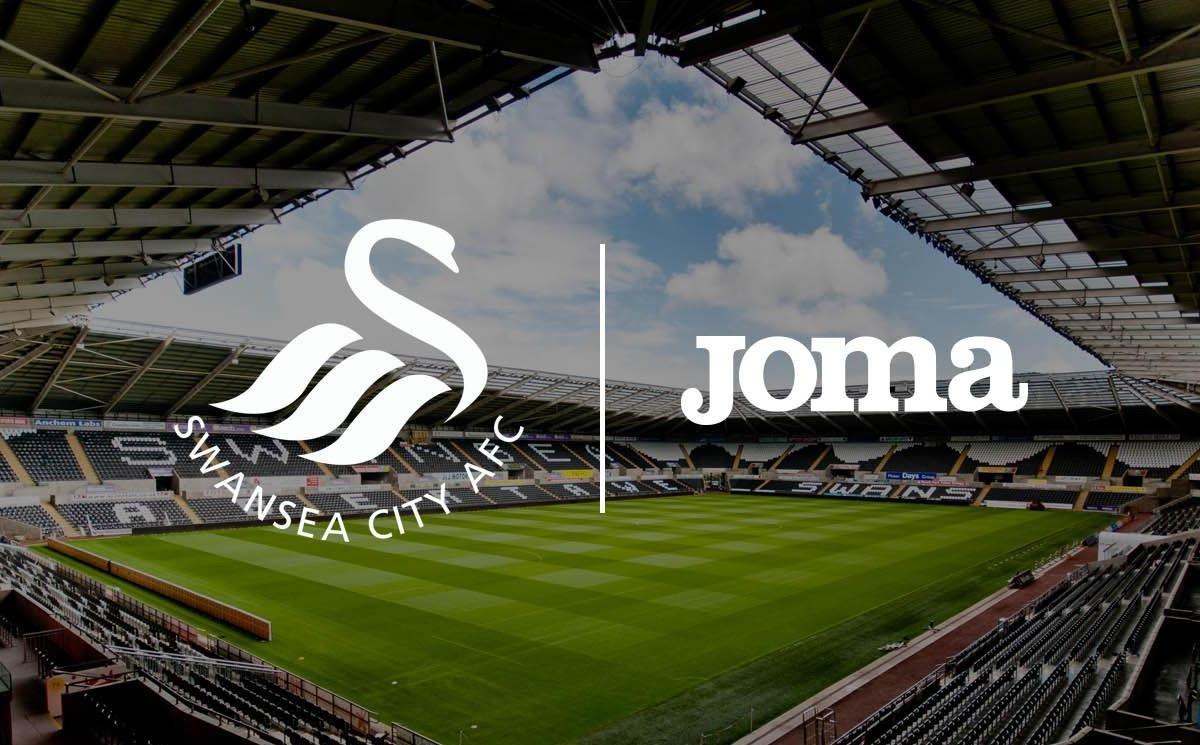 Swansea será vestido por Joma | Foto Web Oficial