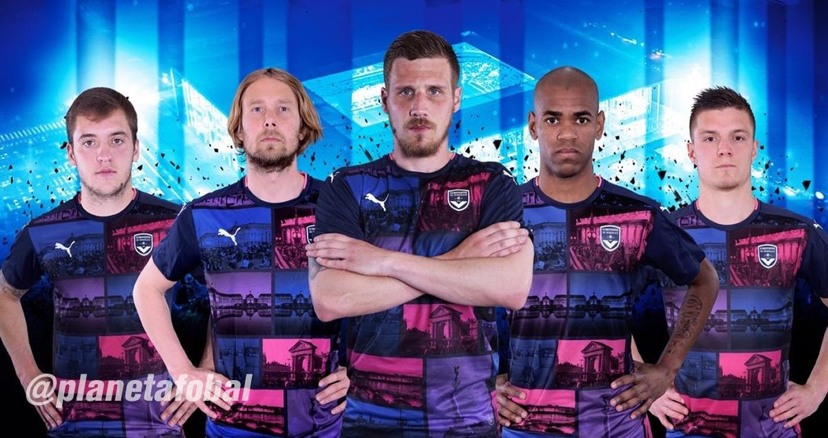 Tercera camiseta Puma del Bordeaux para 2016/2017 | Imagen web oficial