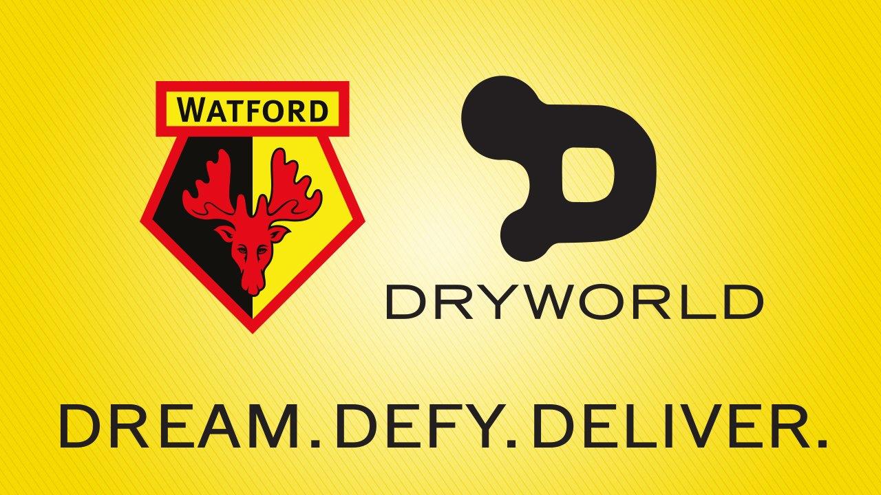 Watford será vestido por DryWorld | Foto Web Oficial