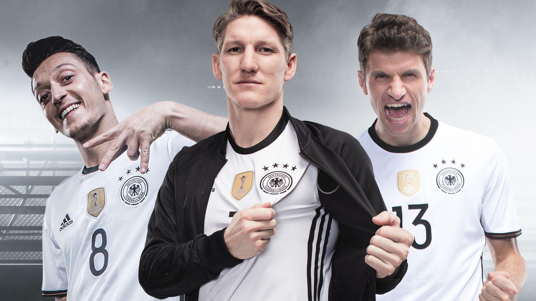 Adidas seguirá vistiendo a Alemania | Foto DFB