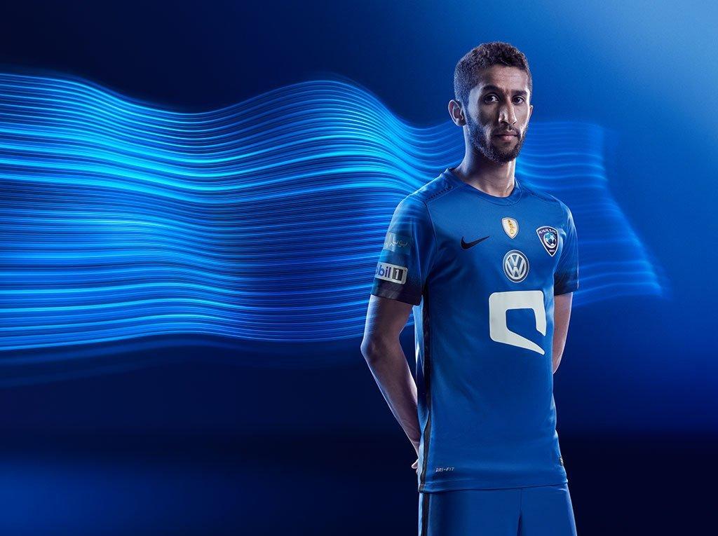 Nueva casaca del Al-Hilal | Foto Nike