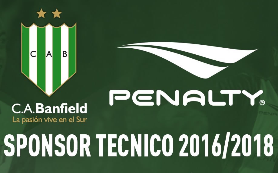 Banfield y Penalty juntos hasta 2018 | Imagen Twitter Oficial