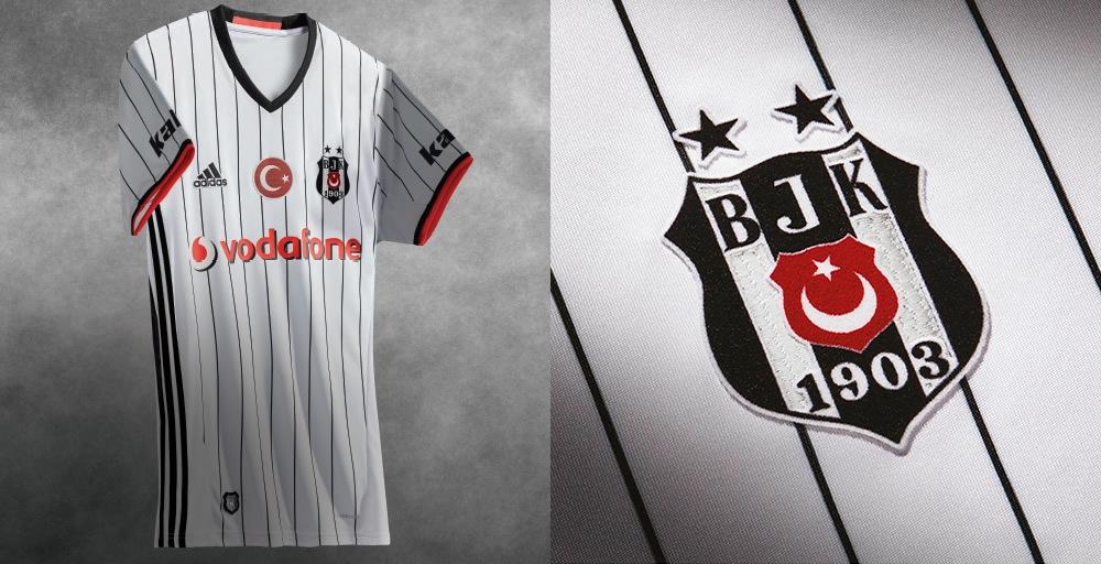 Camiseta titular del Besiktas | Foto Web Oficial