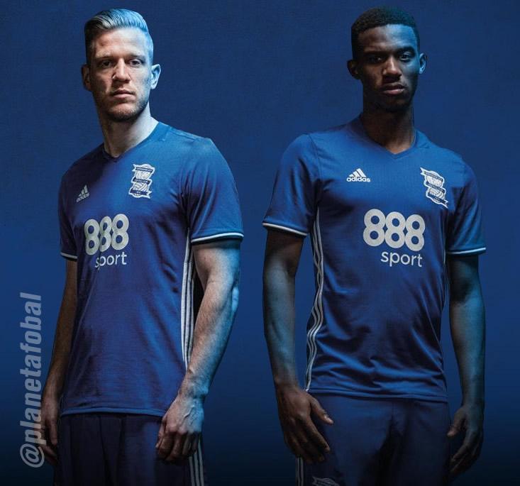 Nueva camiseta del Birmingham City para 2016/2017 | Foto web oficial
