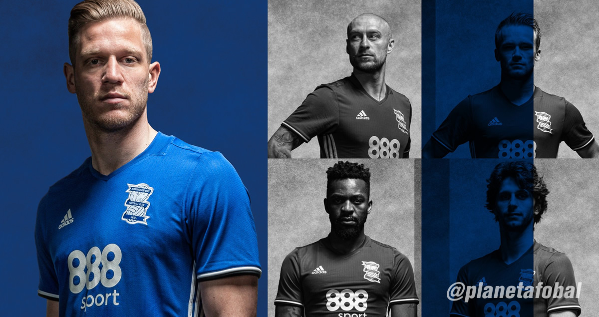 Nueva camiseta del Birmingham City | Foto web oficial