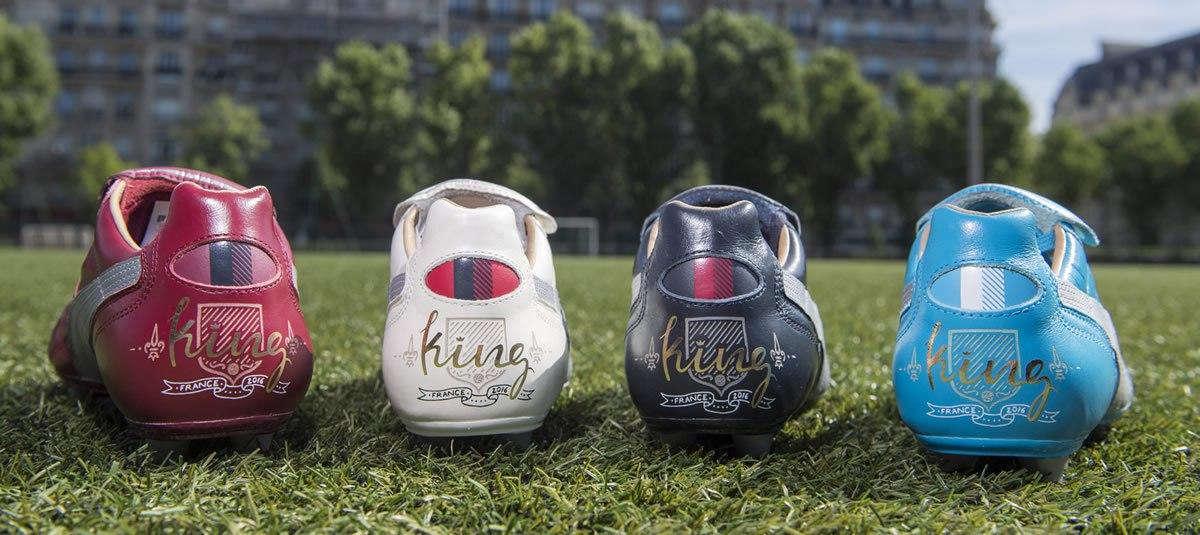 Botines Puma King homenaje a Burdeos, Lyon, París y Marsella