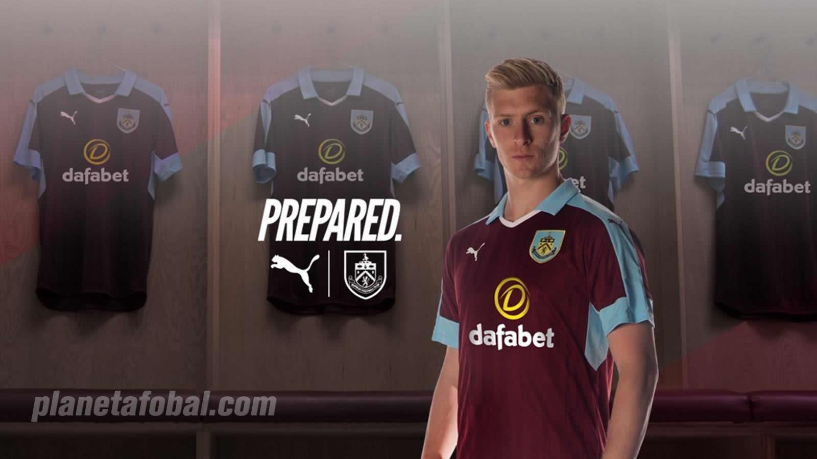 Camiseta titular del Burnley | Foto Web Oficial