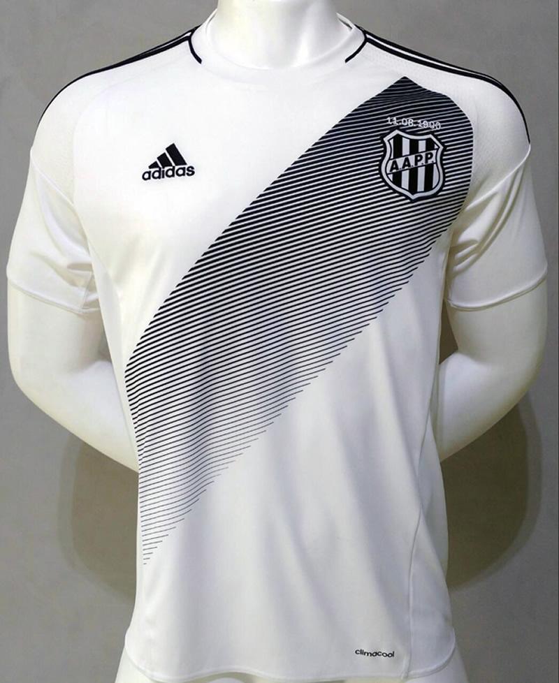 Nueva camiseta del Ponte Preta | Foto Web Oficial