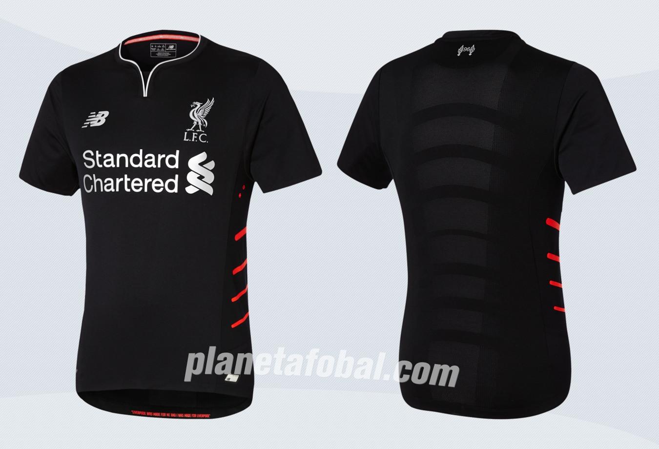 Camiseta suplente New Balance del Liverpool FC | Imágenes Tienda Oficial