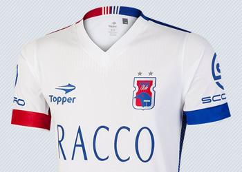 Camiseta suplente del Paraná Clube para 2016 | Imagen Topper